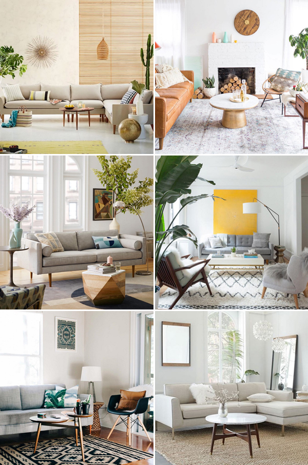 23 Beautifully Refreshing Spring Inspired Living Room