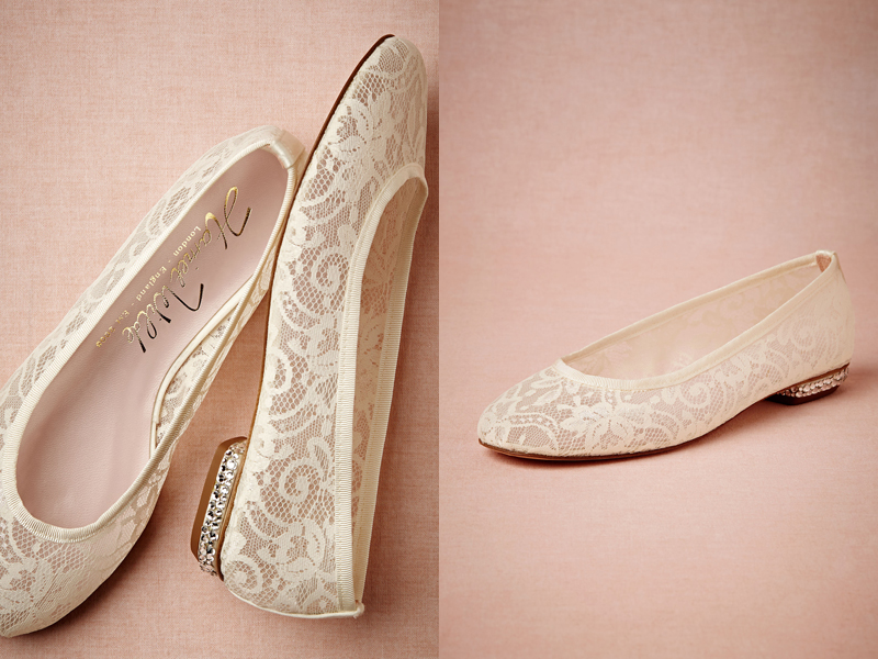 3f01ed6d501 19 Pairs Of Wedding Flats To Keep You Comfy and Beautiful! - Praise ...