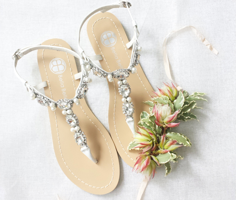 04-Bella Belle Shoes Pearl Wedding Sandals