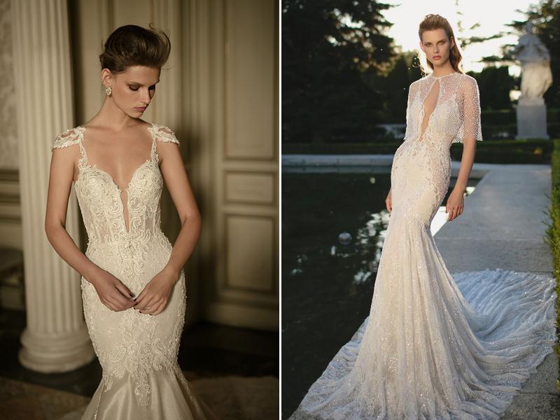 caba1cd99ad4 Deep V-neck! 27 Stunning Plunging Neckline Wedding Dresses! - Praise ...