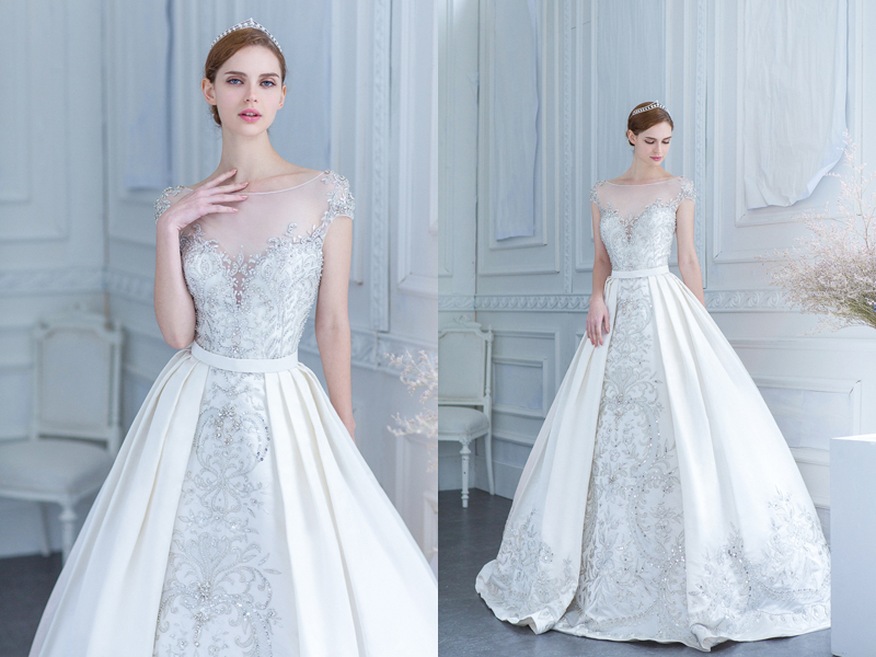 two gowns in one 26 fashion forward convertible wedding dresses you
