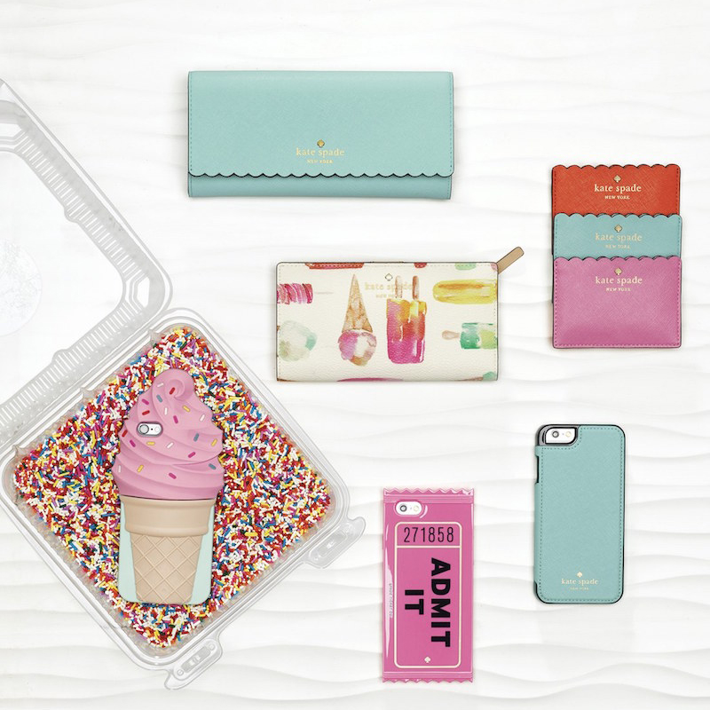 10-Kate Spade New York Ice Cream Iphone Case