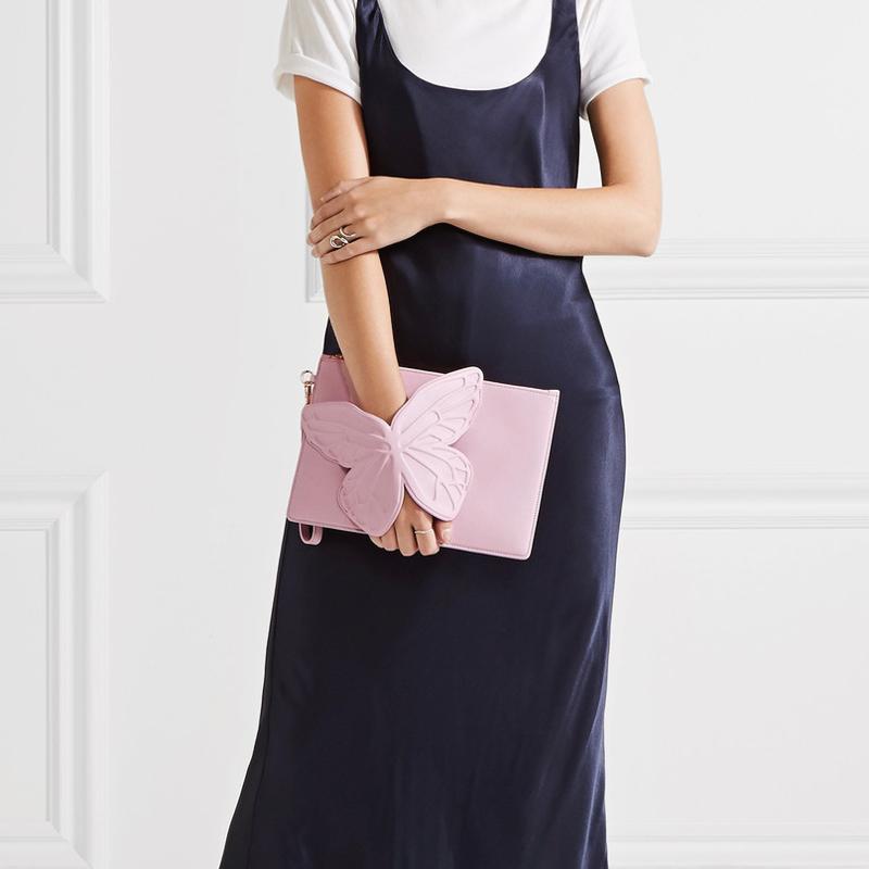 10-Sophia Webster Flossy Embellished Leather Clutch