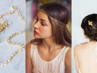 Goddess Headpiece! 21 Timelessly Beautiful Bridal Hair Chains!