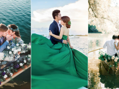 16 Utterly Romantic Love-Boat Engagement Photo Ideas!