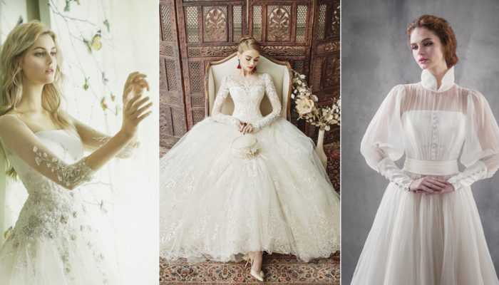 34 Statement-Making Wedding Dresses with Gorgeous Sleeves