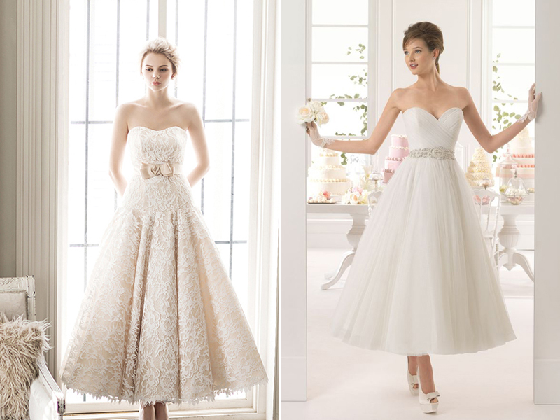 20 Classy And Fun Tea Length Wedding Dresses Praise Wedding