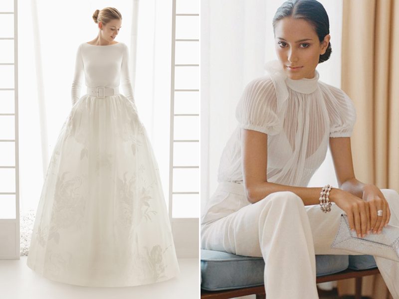 24 Contemporary Wedding Dresses for Not-As-Girly Brides! - Praise ...