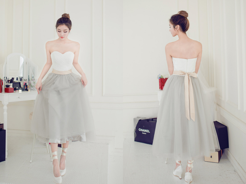 03-Strapless-Ivory-Grey-Tulle-Gown-(1)