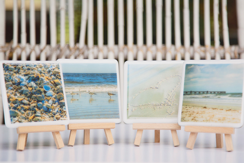 10-Fused Glass Coasters
