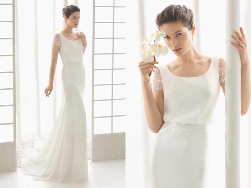Simple Wedding Dresses Whitney Deal Bridal Gown 2: 24 Effortlessly Elegant Low Profile Wedding Dresses