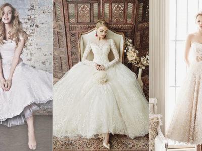 20 Classy and Fun Tea-Length Wedding Dresses!