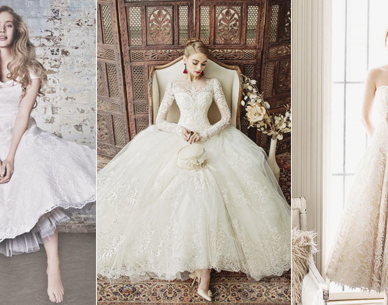 20 Classy and Fun Tea-Length Wedding Dresses!