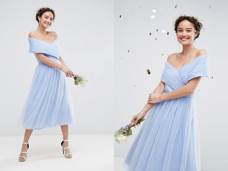 10-ASOS Midi Tulle Dress