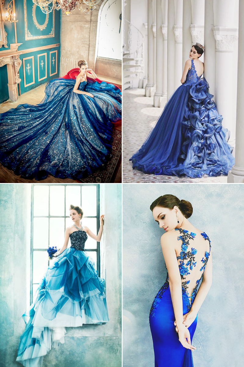 8 Hot Color Trends for Wedding Reception Dresses! - Praise Wedding