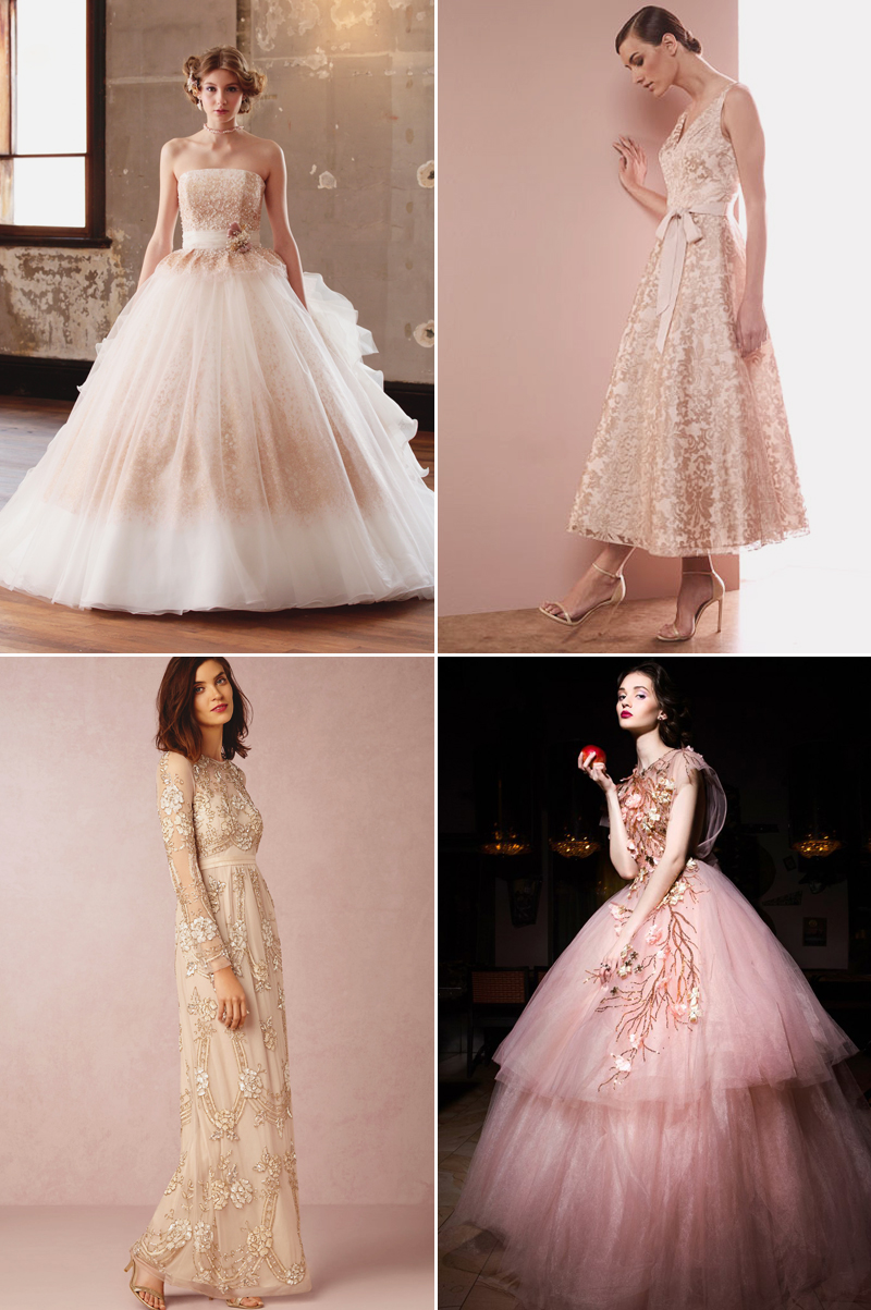 8 Hot Color Trends For Wedding Reception Dresses Praise Wedding