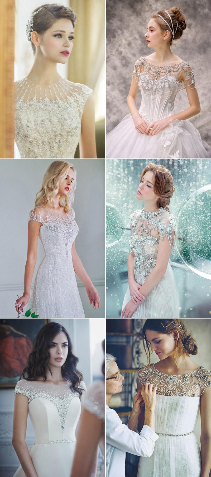 Trend Alert! 26 Wedding Dresses with Gorgeous Necklines! - Praise ...