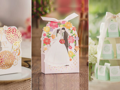 Make It Look Pretty! 23 Wedding Favor Boxes and Packaging Your Guests Will Love!