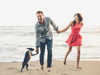 How To Include Your Furry Friends? 18 Super Adorable Engagement Photo Ideas With Dogs!