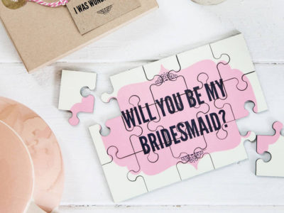 "30 Fun and Creative Ways to Ask ""Will You Be My Bridesmaid""?"