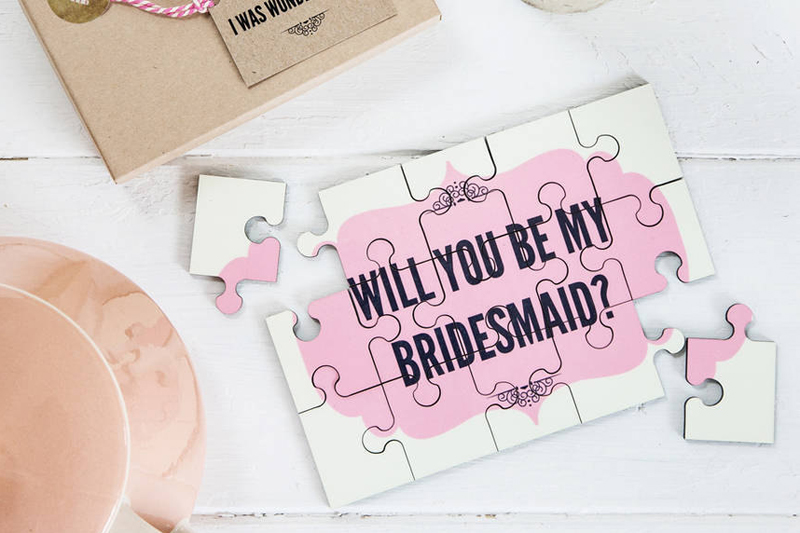 """30 Fun And Creative Ways To Ask """"Will You Be My Bridesmaid"""