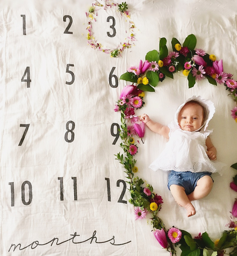 02-Baby Monthly Milestone Blanket (2)