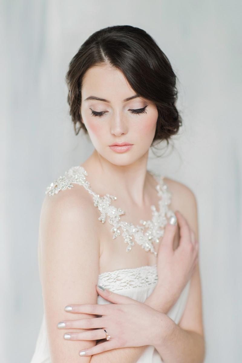 03-Bridal Lace Shoulder Necklace