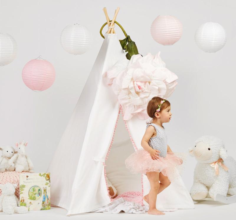 08-Baby Teepee Play Tent