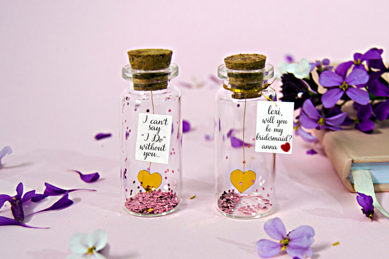08-I Can't Say I Do Without You Glitter Bottle