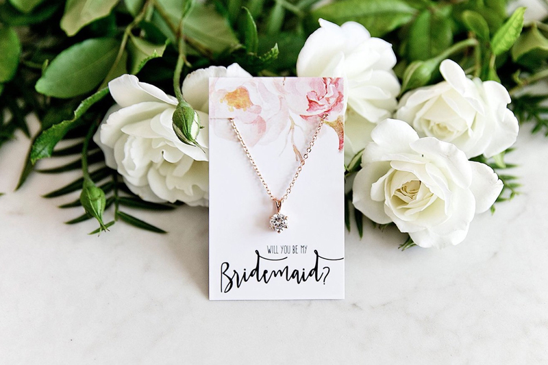 10-18k Rose Gold plated Pendant Necklace