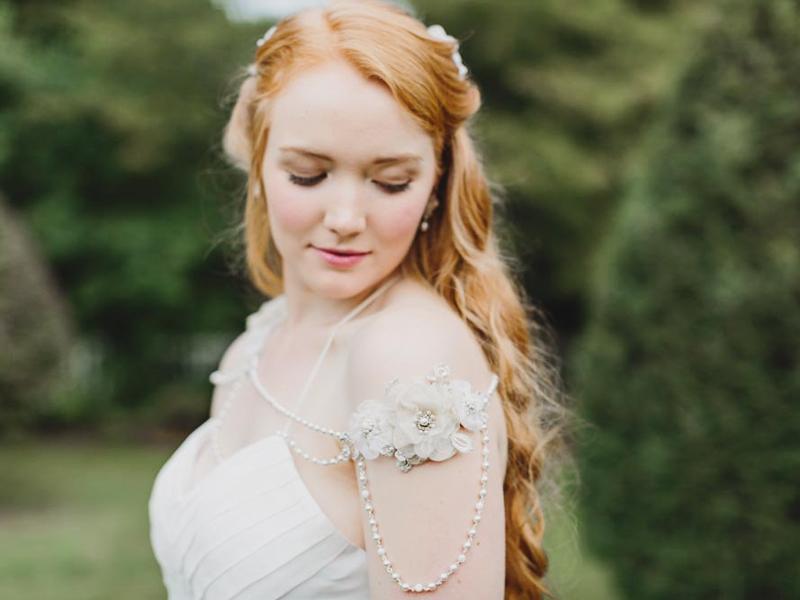 11-Pearl Shoulder Necklace