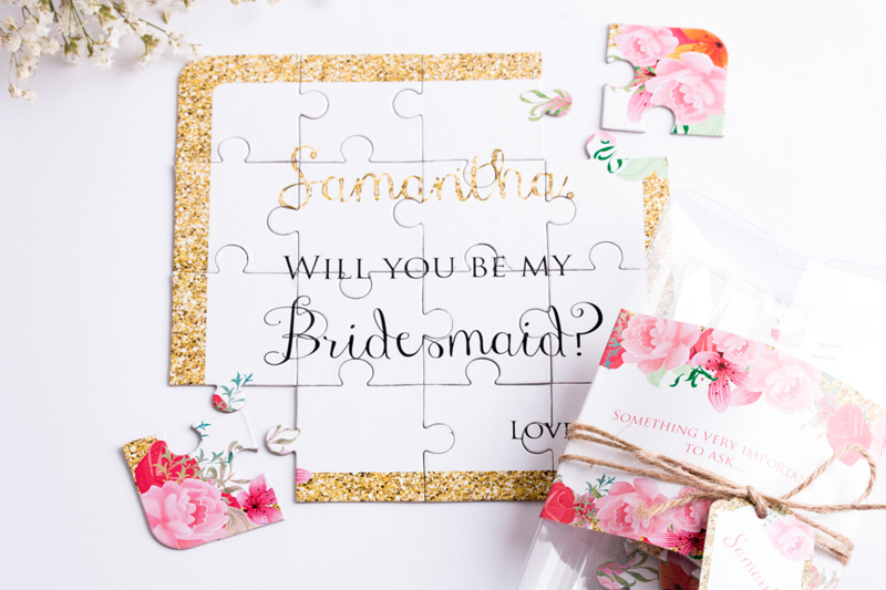 30 Fun And Creative Ways To Ask Quot Will You Be My Bridesmaid