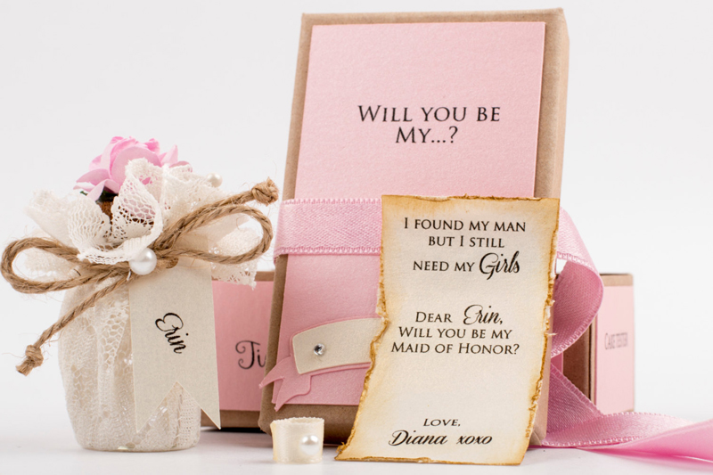 29 Will You Be My Bridesmaid Message In A Bottle