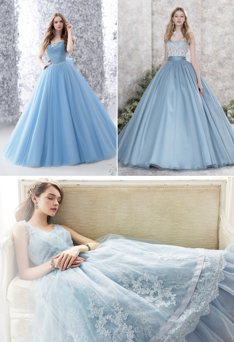 The Ultimate Collection of Something Blue! 30 Dreamy Blue Gowns You ...