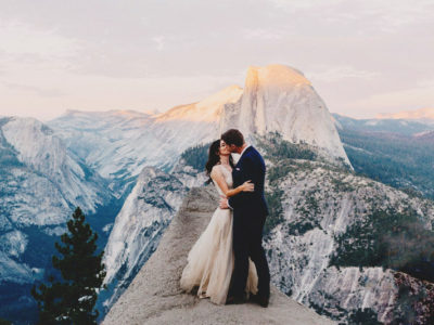 Adventure Is On! 20 Incredible Wedding Photos With Jaw-Dropping Mountain Views!
