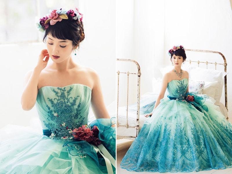 Wedding Dresses Baby Blue 94 Best  Sasaki Nazomi fancy