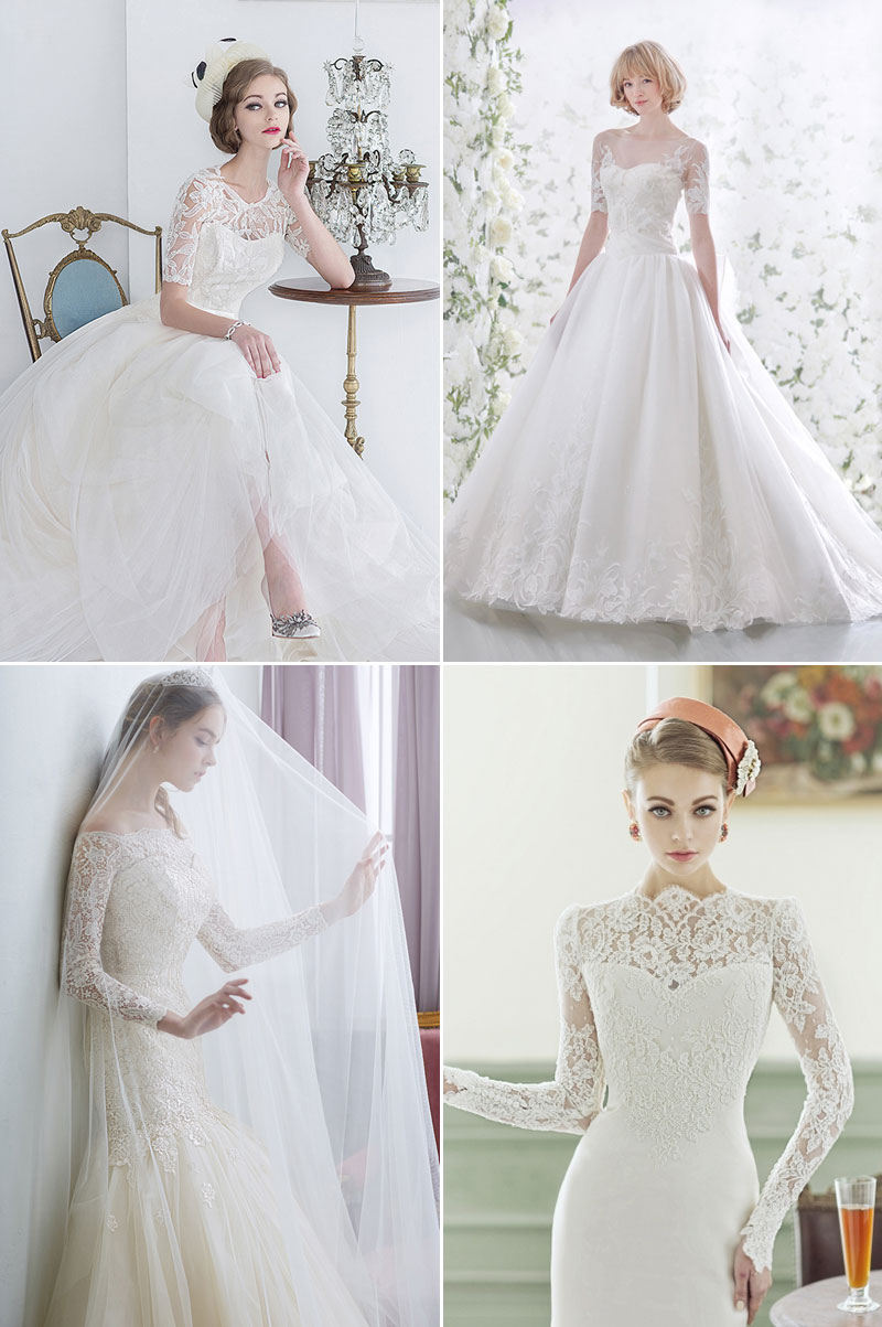 6 Glamorous and Romantic Fall Wedding Dress Trends! - Praise Wedding
