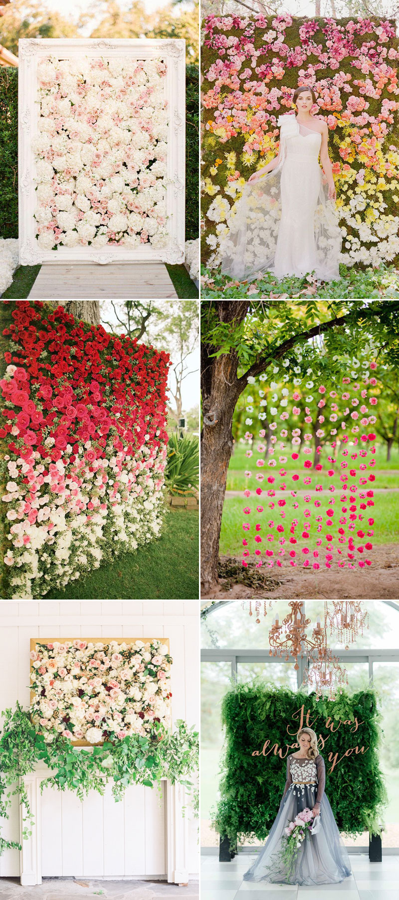 30 stylish ways to create a lush flower filled wedding for Decoration flowers