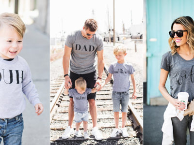 Show Your Love In Style! 14 Super Cute Family T-shirts and Sweaters To flaunt Your Status!