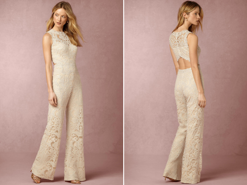 Say No To The Dress 16 Stylish Modern Bridal Jumpsuits Praise