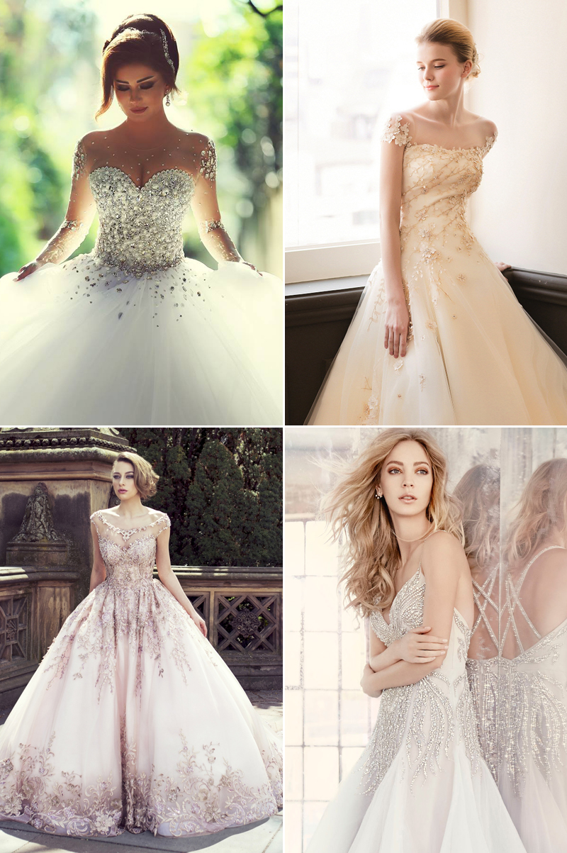 Non Traditional Wedding Dresses With Color