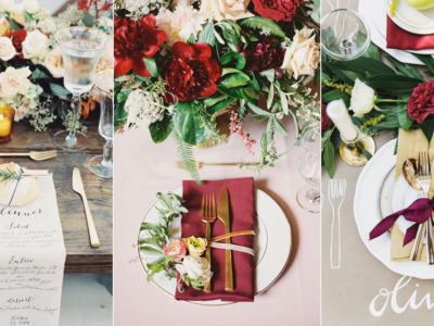 16 Beautiful Place Setting Ideas for Fall Weddings!