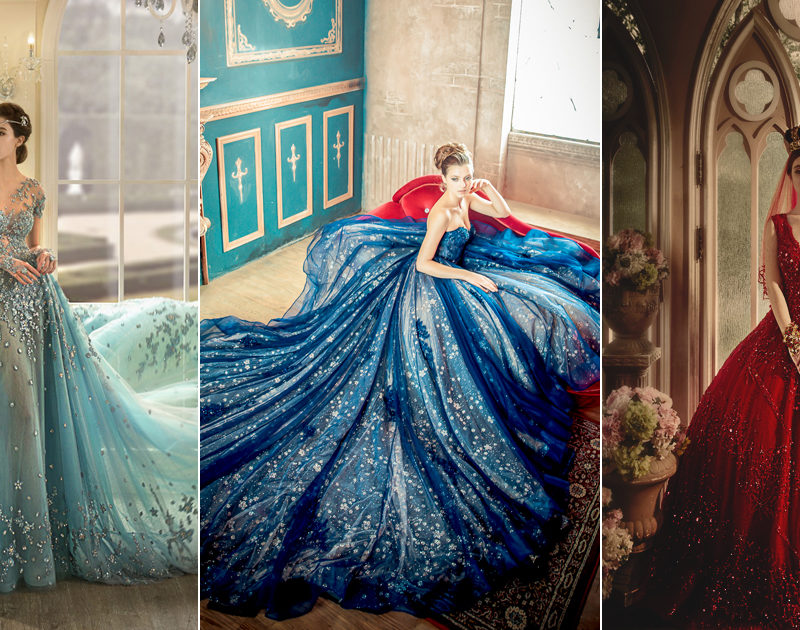 Fall's Must-Have Wedding Look – 24 Gorgeous Jewel Toned Gowns!