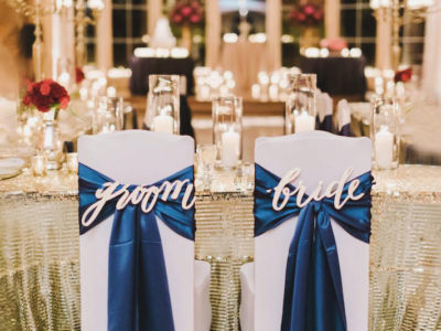Sophisticated, Rich and Elegant Wedding Palette – Royal Blue + Gold