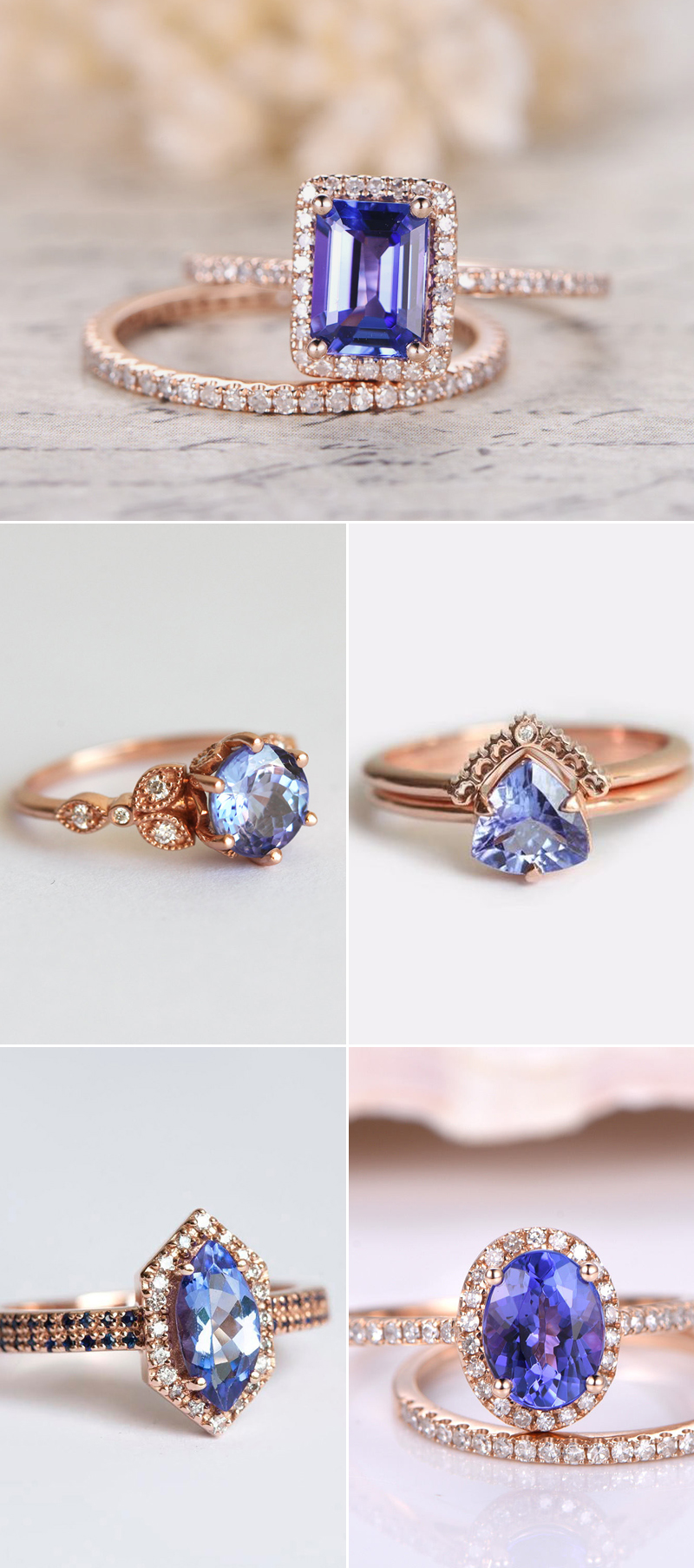bluerings03-Blue Tanzanite