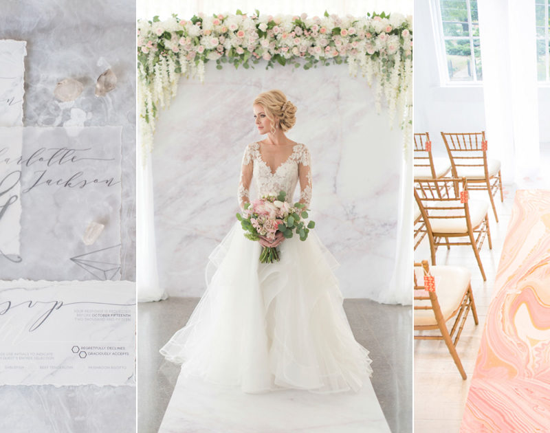 20 Marble Inspired Wedding Ideas For Modern Stylish Couples!