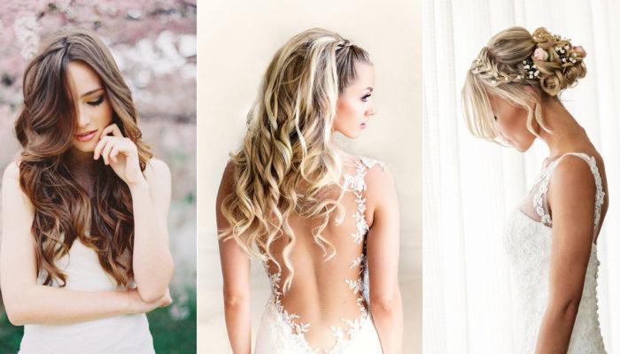 Dazzling in a Natural Way! 16 Irresistible Tender Feminine Wedding Hairstyles!