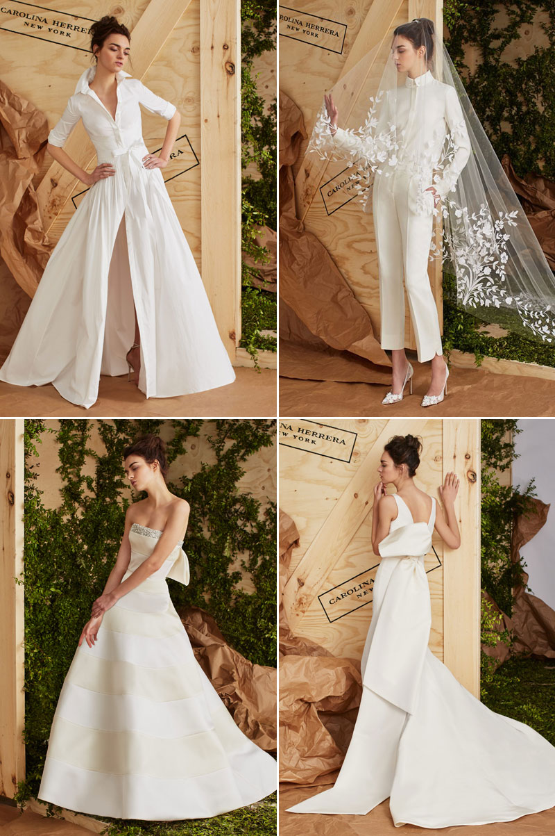 24 Sophisticated Modern Wedding Gowns and Pant Suits for Cool ...