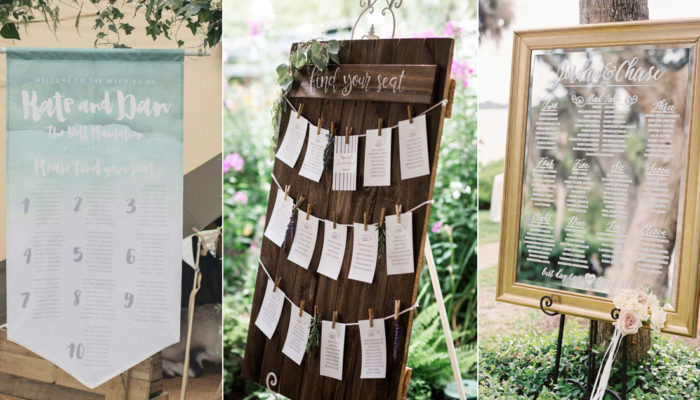 32 Creative Reception Seating Chart and Place Card Ideas Your Guests Will Love!