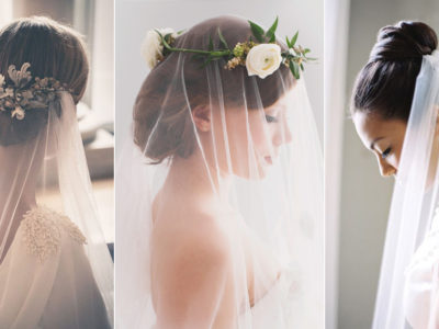 5 Chic Bridal Hairstyles that Look Good with Veils!